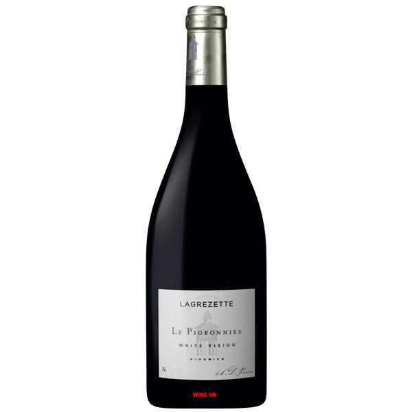 Rượu Vang Chateau Lagrezette Pigeonnier White Vision