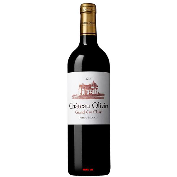 Rượu Vang Chateau Olivier
