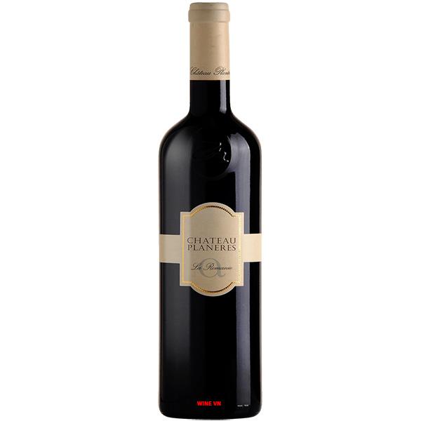 Rượu Vang Chateau Planeres La Romanie