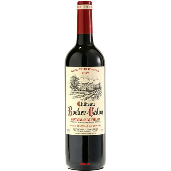 Rượu Vang Chateau Rocher Calon Montagne Saint Emilion
