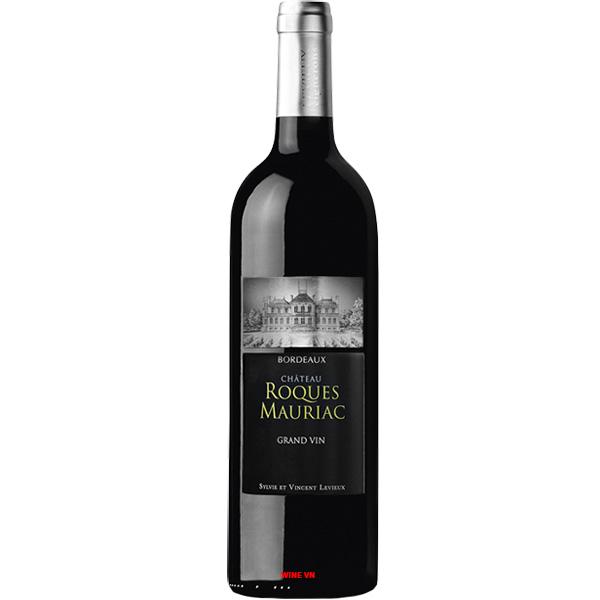Rượu Vang Chateau Roques Mauriac Grand Vin