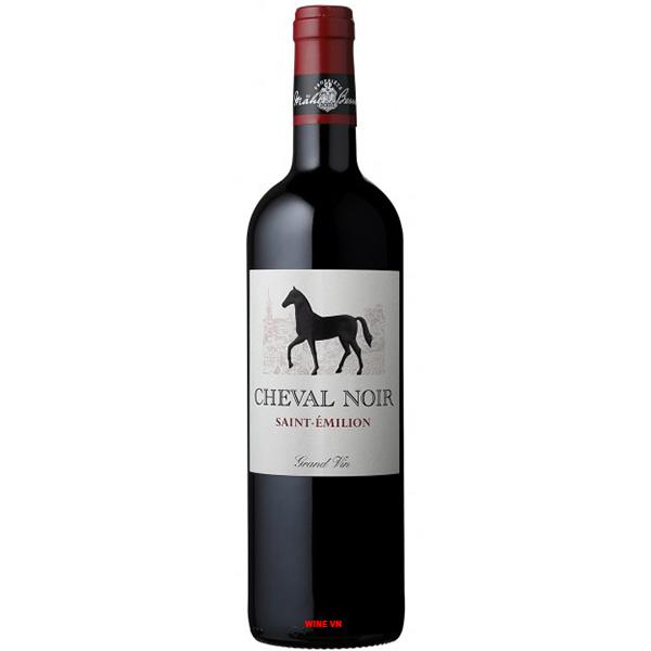 Rượu Vang Cheval Noir Grand Vin Saint Emilion