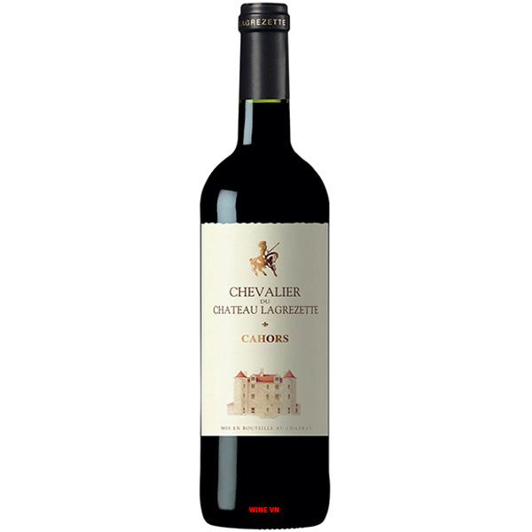 Rượu Vang Chevalier Du Chateau Lagrezette Cahors