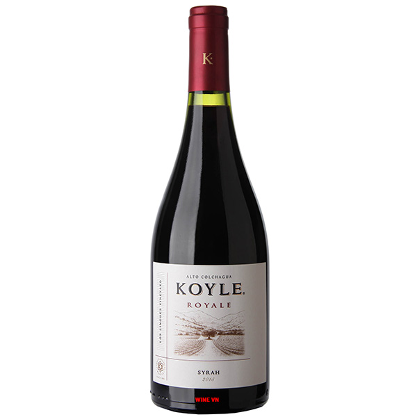 Rượu Vang Chile Koyle Royale Syrah
