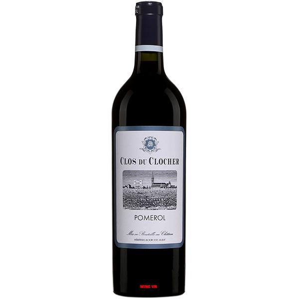 Rượu Vang Clos Du Clocher Pomerol