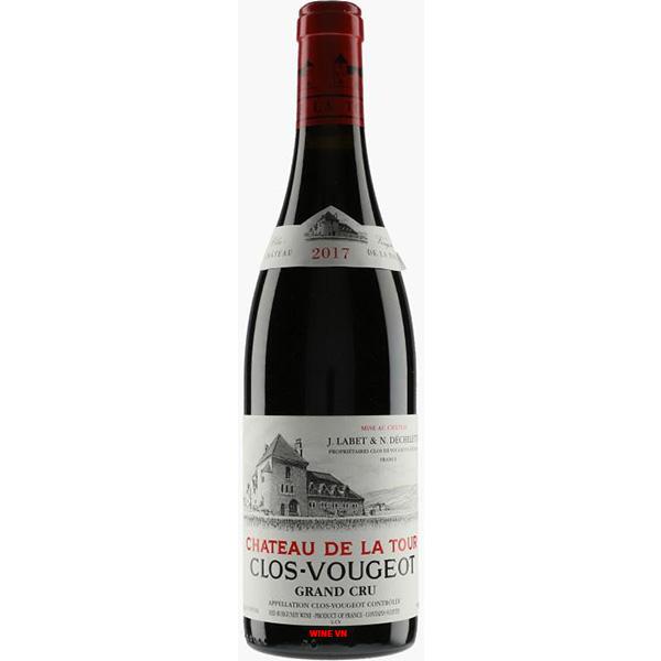Rượu Vang Clos Vougeot Chateau De Latour Grand Cru
