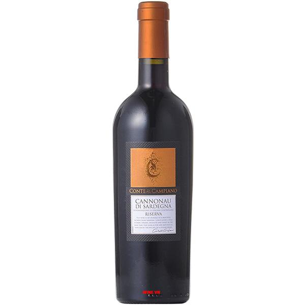 Rượu Vang Conte Di CampianoCannonau Di Sardegna Riserva