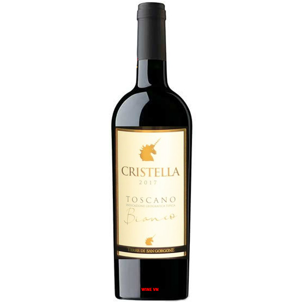 Rượu Vang Cristella Toscano Bianco
