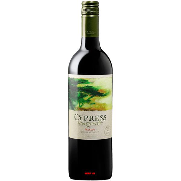 Rượu Vang Cypress Vineyards Merlot
