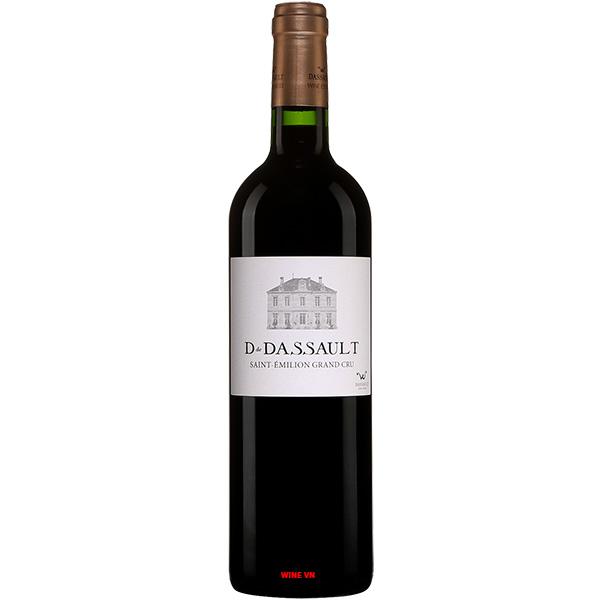 Rượu Vang D De Dassault Saint Emilion Grand Cru