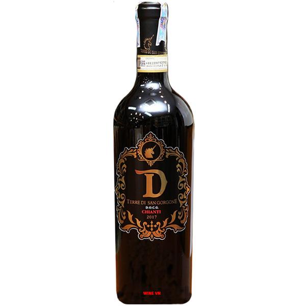 Rượu Vang D Terre Di San Gorgone Chianti D.O.C.G