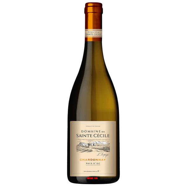 Rượu Vang Domaine De Sainte Cecile Chardonnay