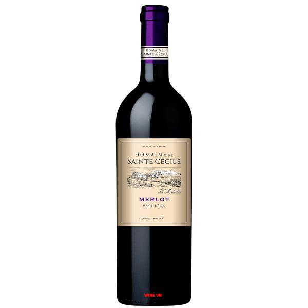Rượu Vang Domaine De Sainte Cecile Merlot