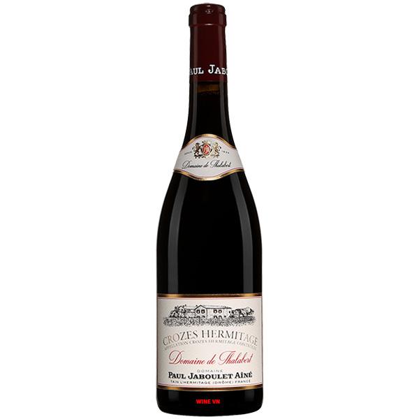 Rượu Vang Domaine De Thalabert Crozes Hermitage