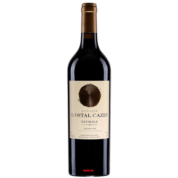 Rượu Vang Domaine L'Ostal Cazes Estibals Minervois