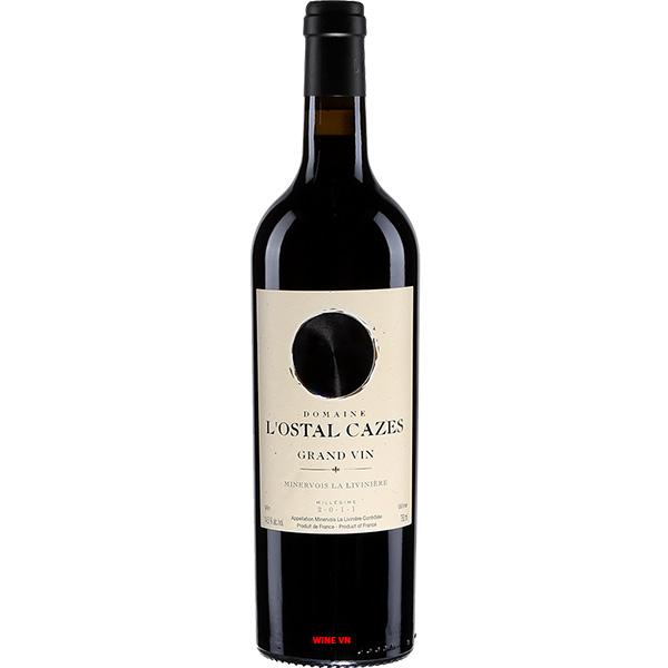 Rượu Vang Domaine L'Ostal Cazes Grand Vin Minervois La Livinière