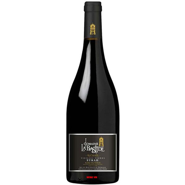 Rượu Vang Domaine La Bastide Syrah Vieilles Vignes