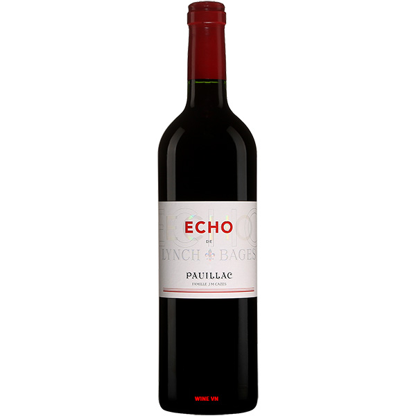 Rượu Vang Echo De Lynch Bages Pauillac