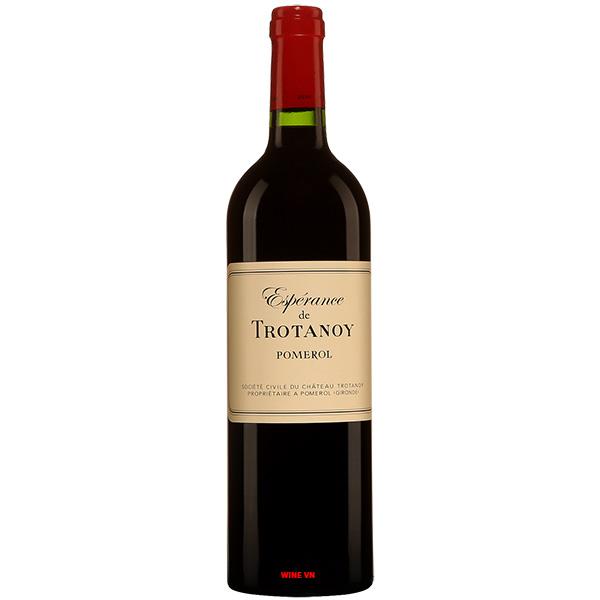 Rượu Vang Esperance De Trotanoy Pomerol