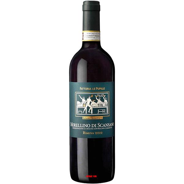 Rượu Vang Fattoria Le Pupille Morellino Di Scansano Riserva