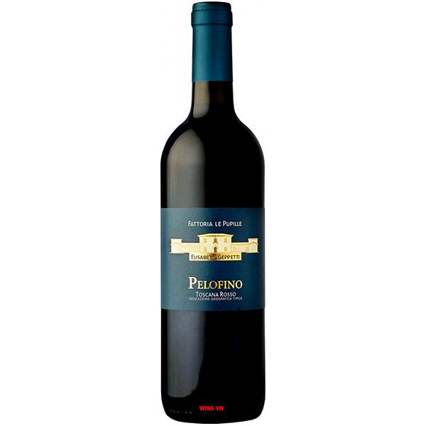 Rượu Vang Fattoria Le Pupille Pelofino Toscana Rosso