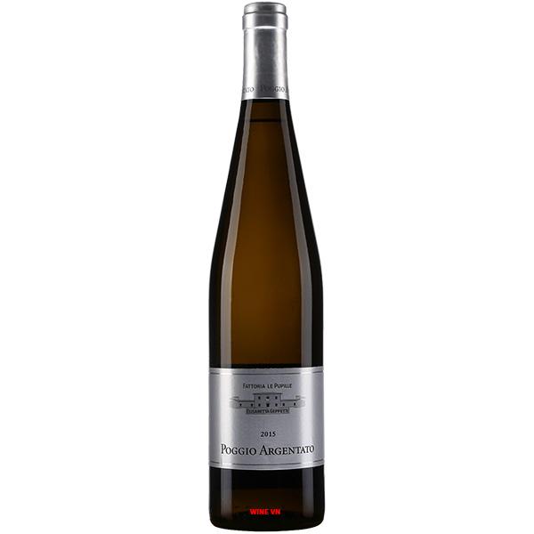 Rượu Vang Fattoria Le Pupille Poggio Argentato
