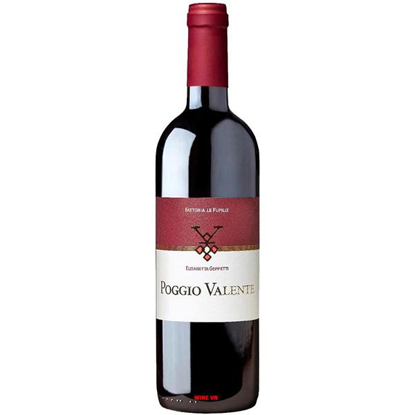 Rượu Vang Fattoria Le Pupille Poggio Valente