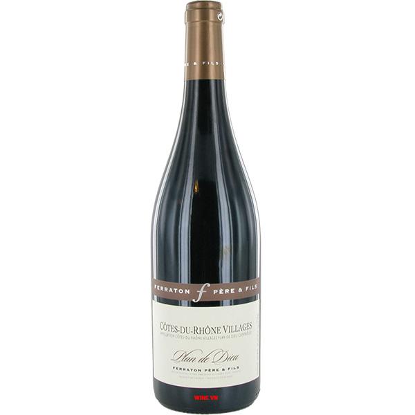 Rượu Vang Ferraton Pere & Fils Côtes Du Rhône Villages Plan De Dieu