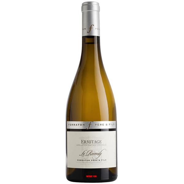 Rượu Vang Ferraton Pere & Fils Ermitage Le Reverdy