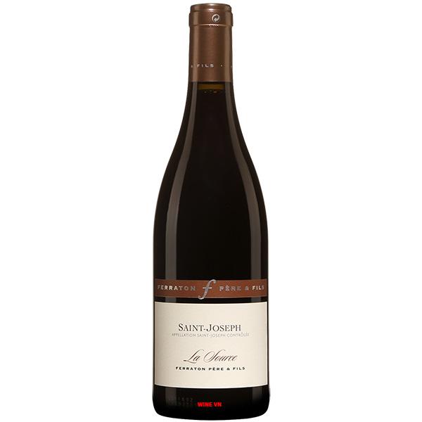 Rượu Vang Ferraton Pere & Fils Saint Joseph La Source