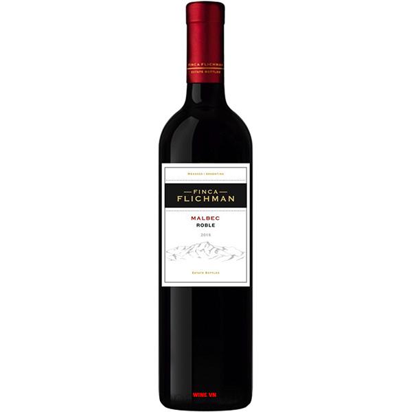 Rượu Vang Finca Flichman Roble Malbec