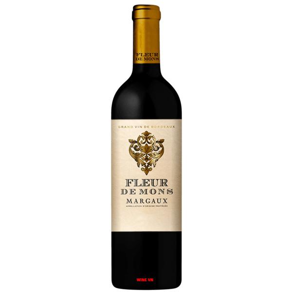 Rượu Vang Fleur De Mons Margaux
