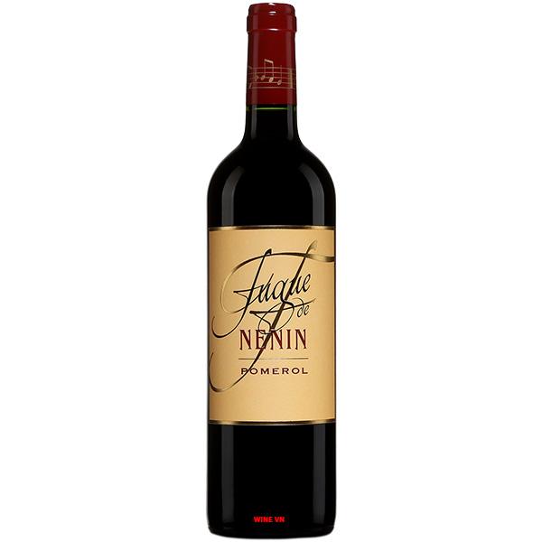 Rượu Vang Fugue De Nenin Pomerol