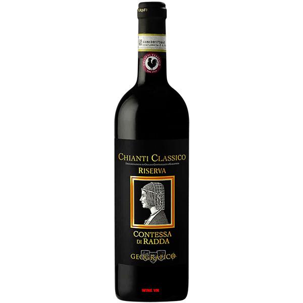 Rượu Vang Geografico Contessa Di Radda Chianti Classico Riserva