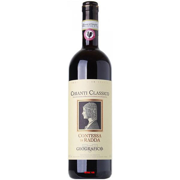Rượu Vang Geografico Contessa Di Radda Chianti Classico