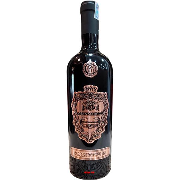Rượu Vang Gianmarco Primitivo 18 Độ