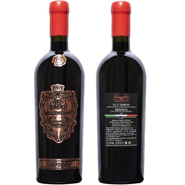 Rượu Vang Gianmarco Refosco