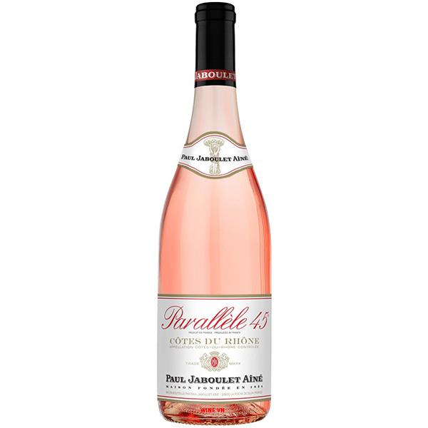 Rượu Vang Hồng Paul Jaboulet Aine Parallele 45 Cotes Du Rhone