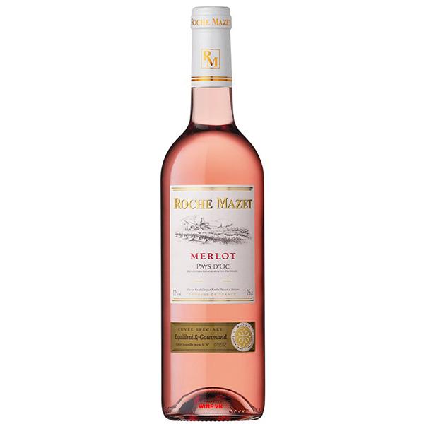 Rượu Vang Hồng Roche Mazet Merlot