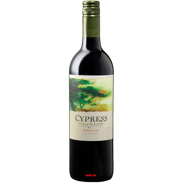 Rượu Vang J.Lohr Cypress Vineyards Zinfandel