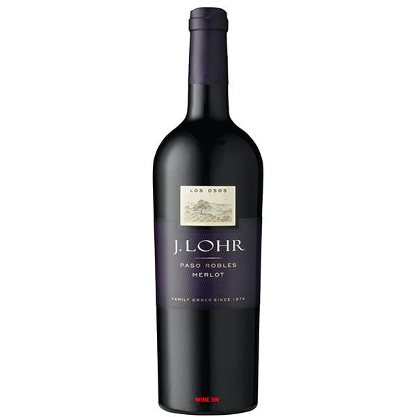 Rượu Vang J.Lohr Los Osos Paso Robles Merlot