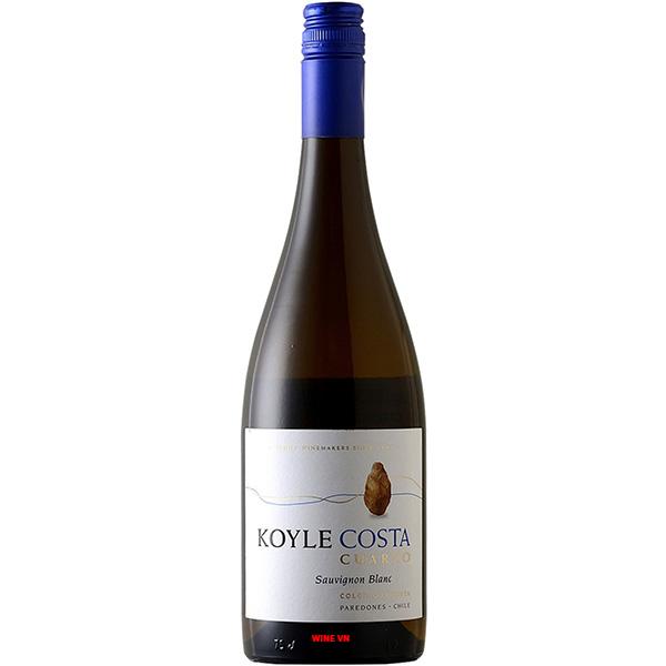 Rượu Vang Koyle Costa Cuarzo Sauvignon Blanc