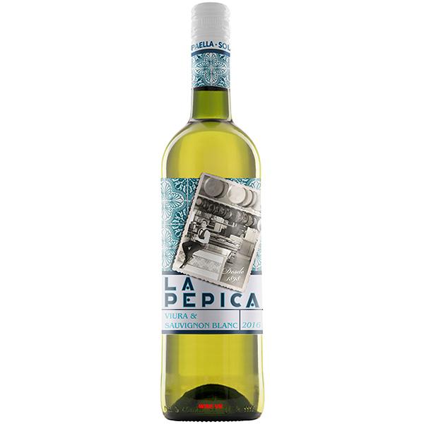 Rượu Vang La Pepica Viura - Sauvignon Blanc