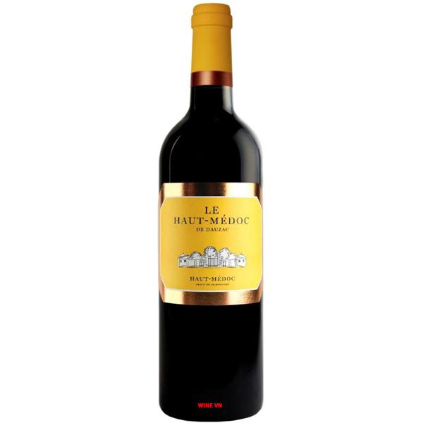 Rượu Vang Le Haut Medoc De Dauzac
