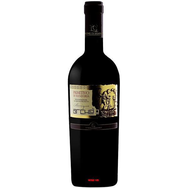 Rượu Vang Le Vigne Di Sammarco Arche Primitivo Di Manduria