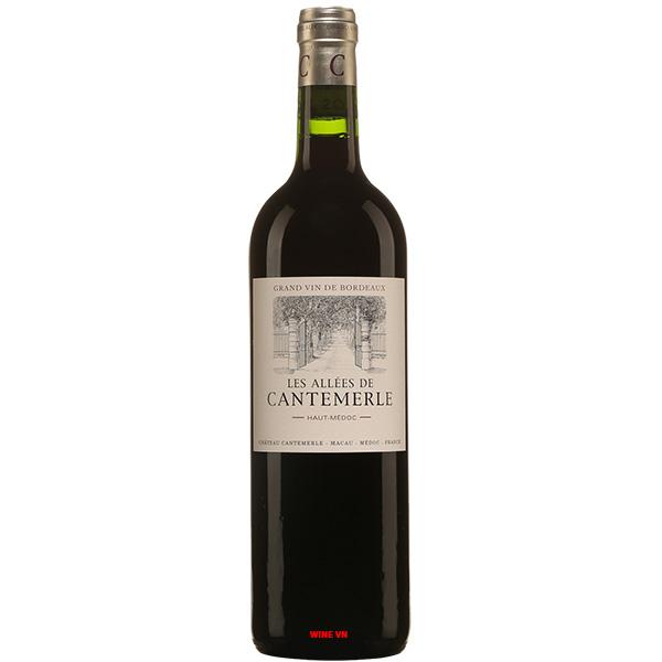 Rượu Vang Les Allees De Cantemerle