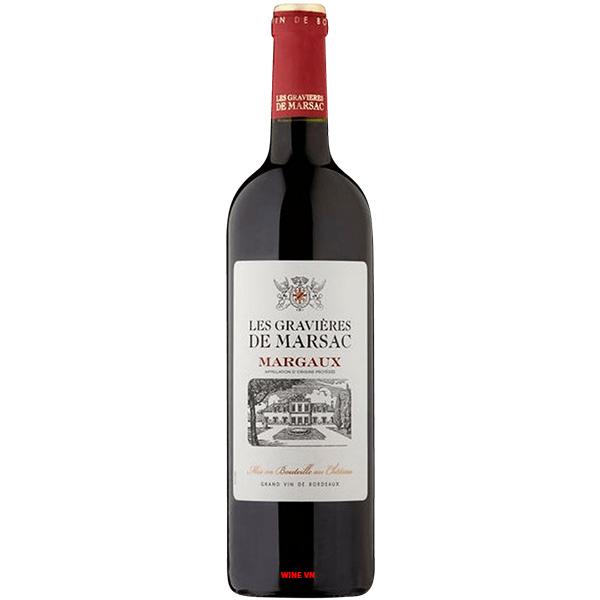 Rượu Vang Les Gravieres De Marsac Margaux