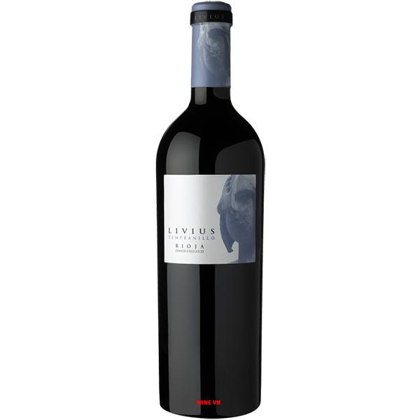 Rượu Vang Livius Tempranillo Rioja