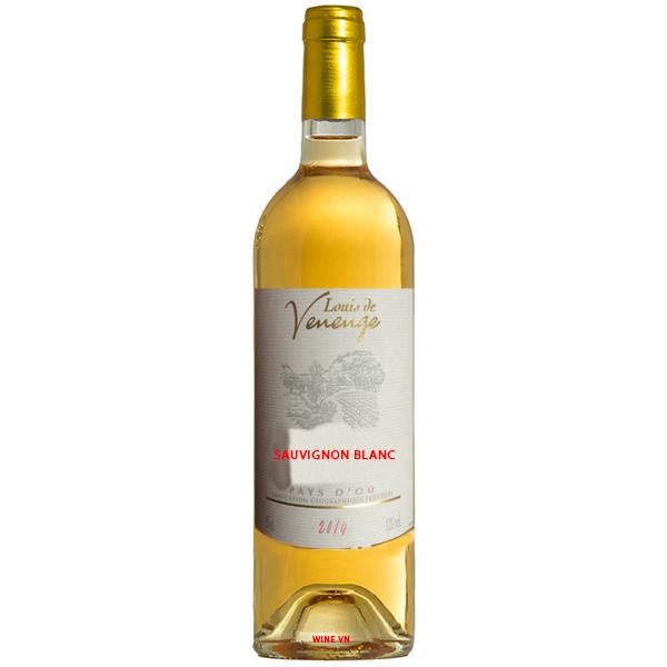 Rượu Vang Louis De Venenge Sauvignon Blanc