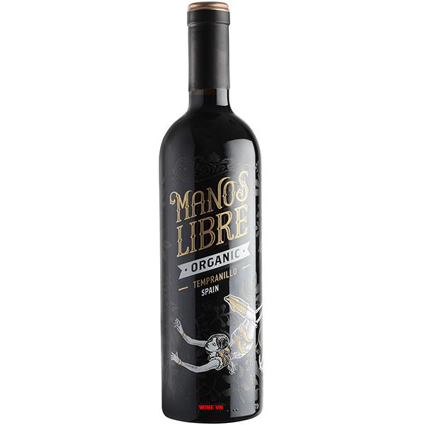 Rượu Vang Manos Libre Organic Tempranillo